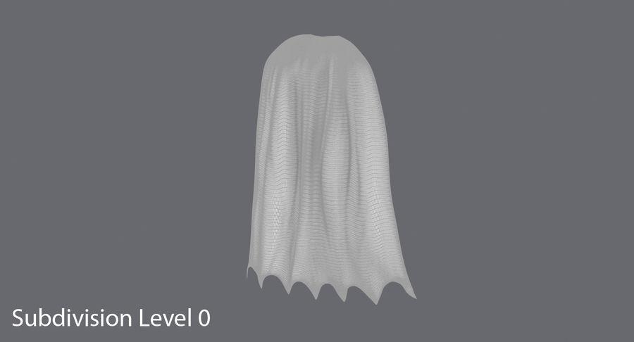 Batman Cape Standing royalty-free 3d model - Preview no. 11