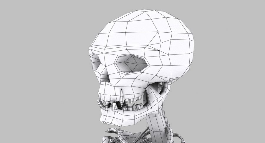 Skelett royalty-free 3d model - Preview no. 27