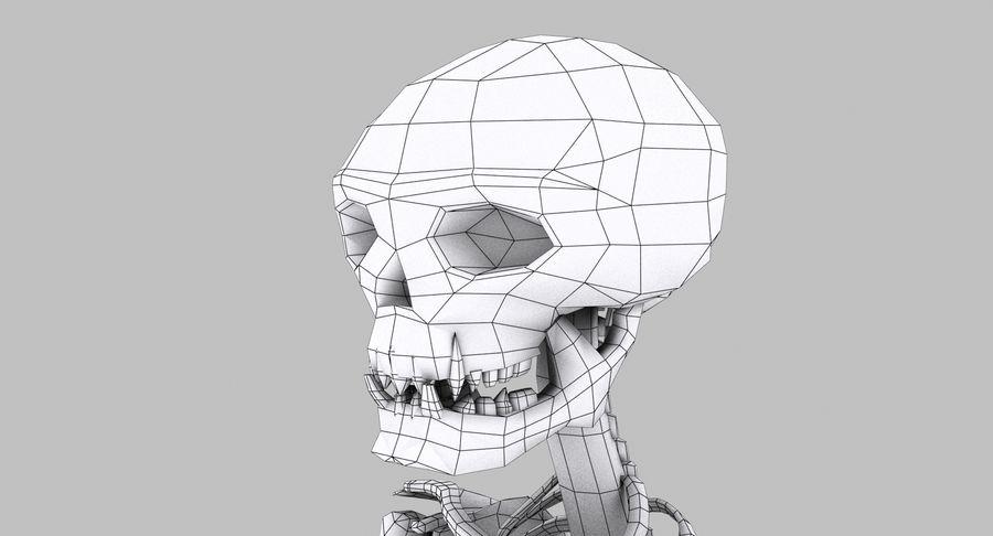 Szkielet royalty-free 3d model - Preview no. 27
