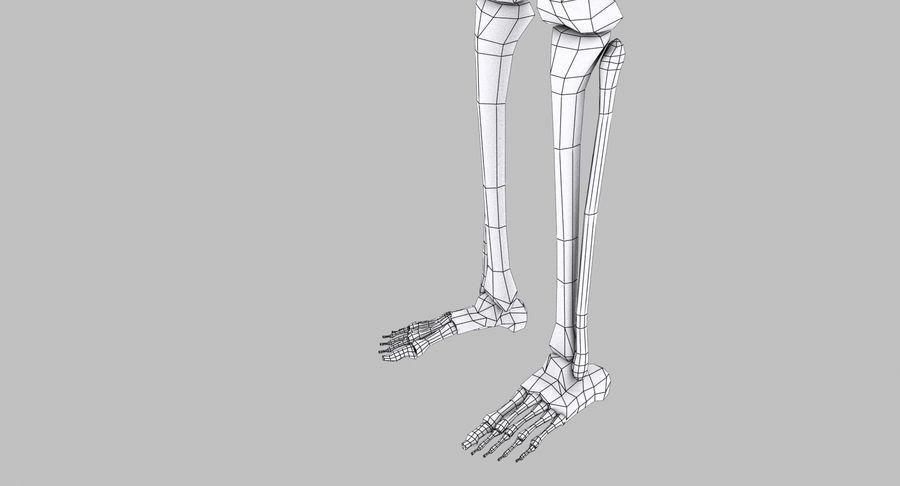 Szkielet royalty-free 3d model - Preview no. 25