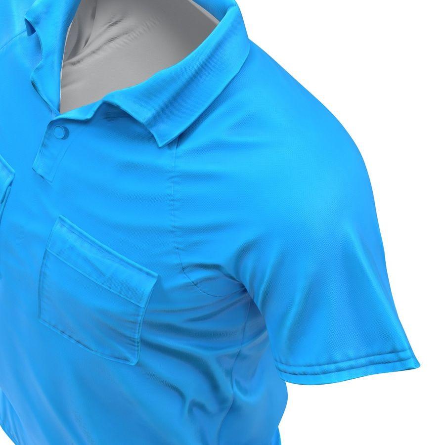 T-shirt kieszonkowy royalty-free 3d model - Preview no. 18
