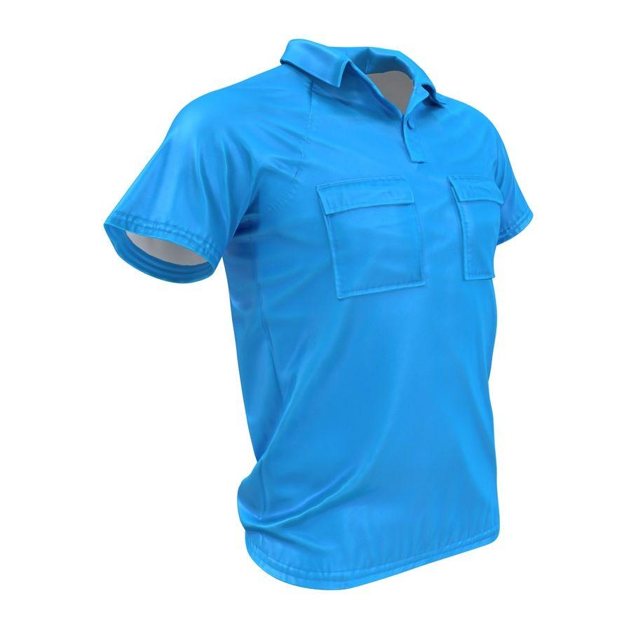 T-shirt kieszonkowy royalty-free 3d model - Preview no. 7