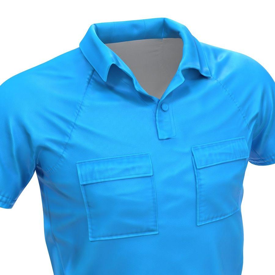 T-shirt kieszonkowy royalty-free 3d model - Preview no. 13