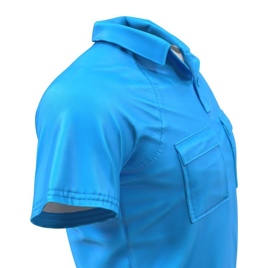T-shirt kieszonkowy royalty-free 3d model - Preview no. 14