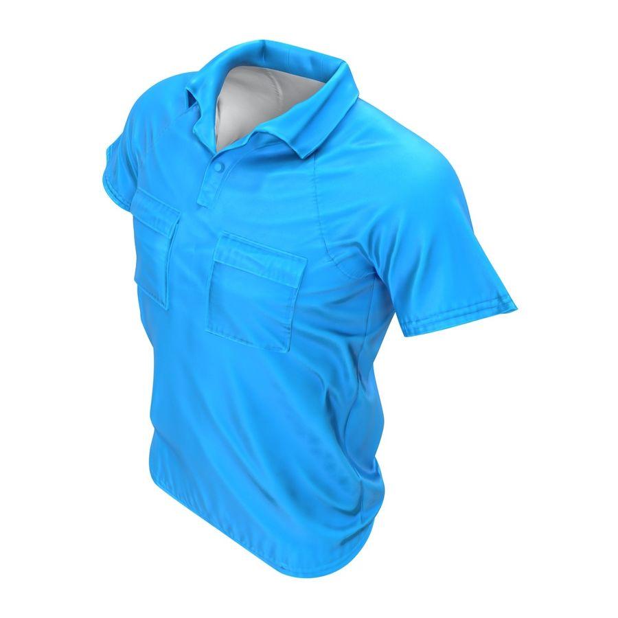 T-shirt kieszonkowy royalty-free 3d model - Preview no. 6