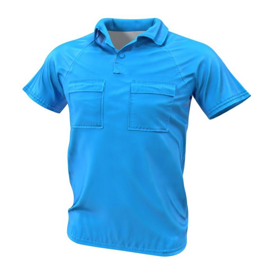 T-shirt kieszonkowy royalty-free 3d model - Preview no. 2