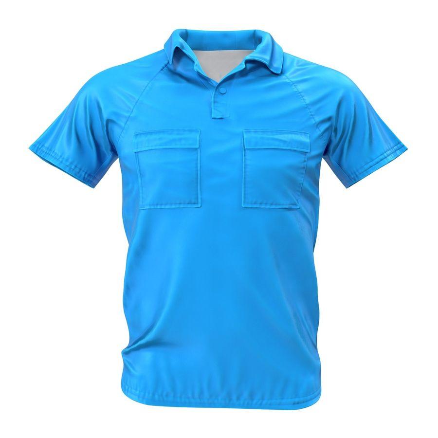 T-shirt kieszonkowy royalty-free 3d model - Preview no. 3