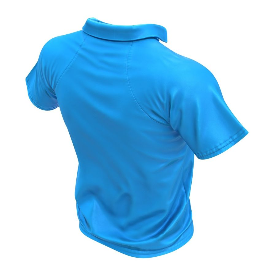 T-shirt kieszonkowy royalty-free 3d model - Preview no. 8