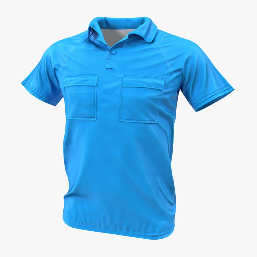 T-shirt kieszonkowy royalty-free 3d model - Preview no. 1