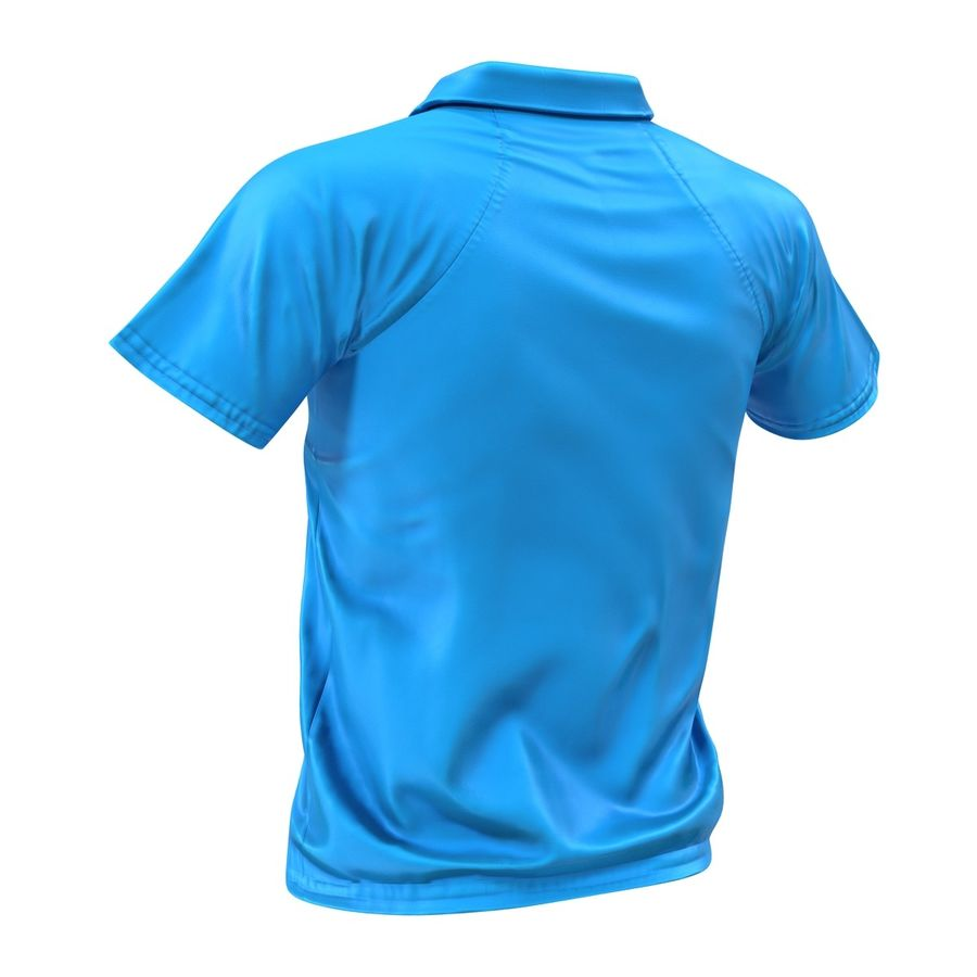T-shirt kieszonkowy royalty-free 3d model - Preview no. 9