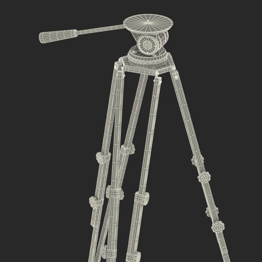 Vintage Camera Tripod royalty-free 3d model - Preview no. 19