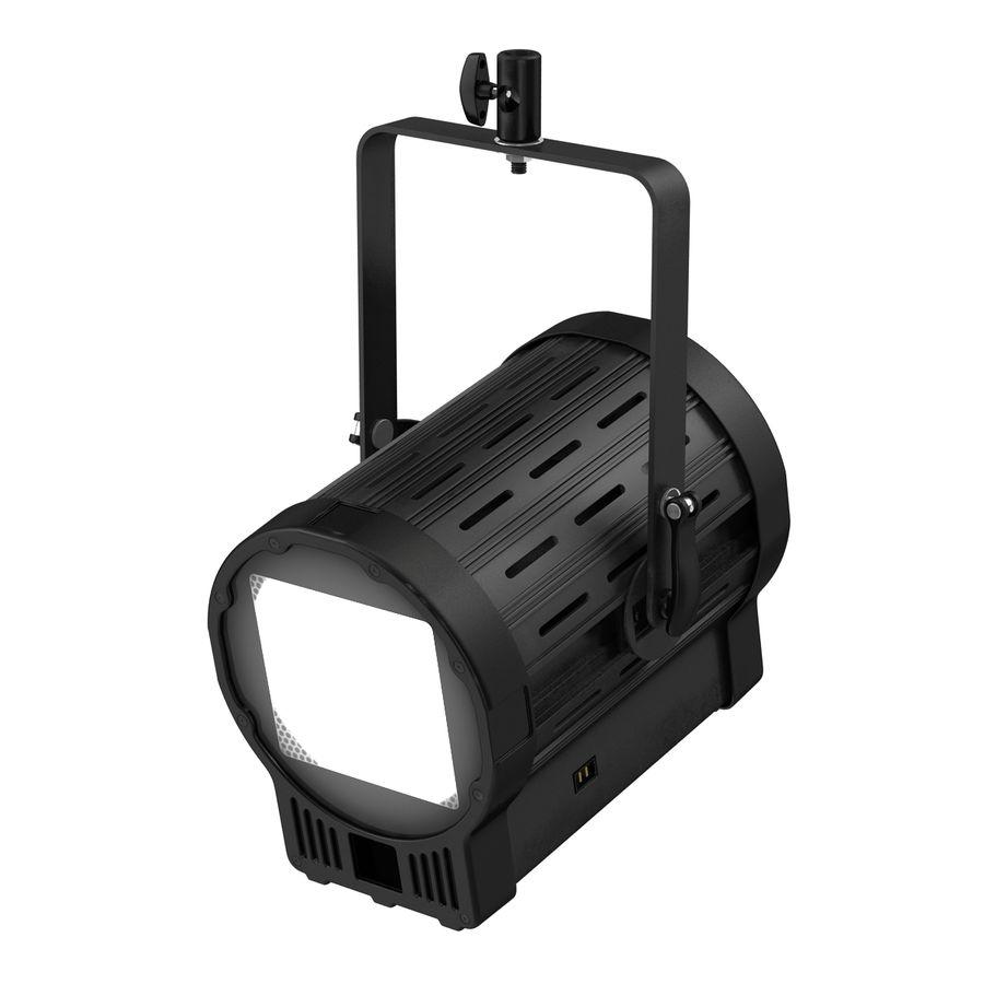 Studio Fresnel Light Generic 2 3D Model royalty-free 3d model - Preview no. 9