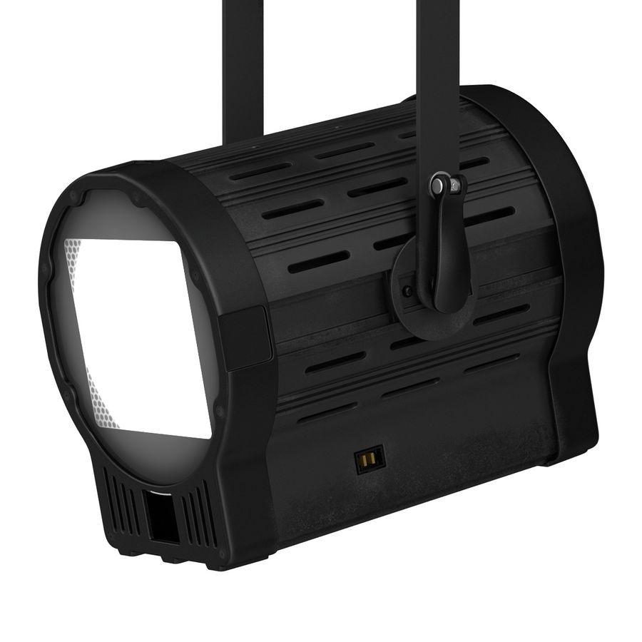 Studio Fresnel Light Generic 2 3D Model royalty-free 3d model - Preview no. 17