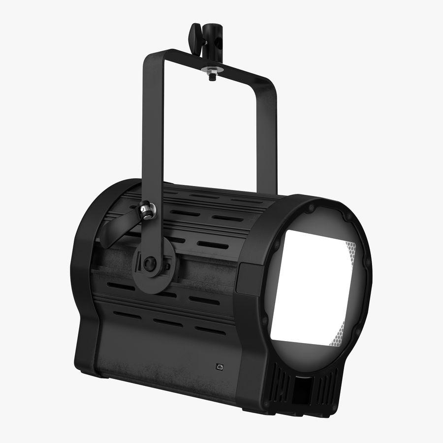 Studio Fresnel Light Generic 2 3D Model royalty-free 3d model - Preview no. 1