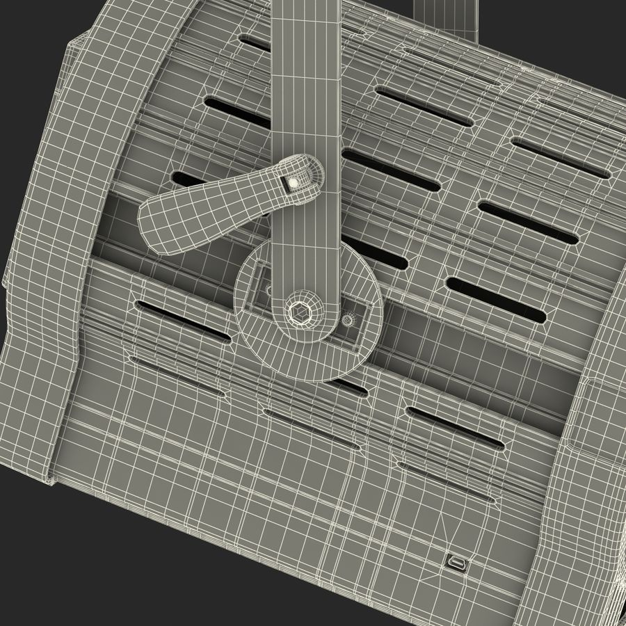 Studio Fresnel Light Generic 2 3D Model royalty-free 3d model - Preview no. 45