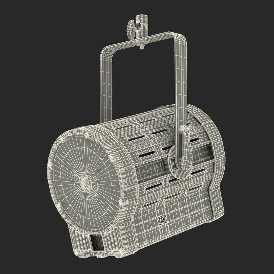 Studio Fresnel Light Generic 2 3D Model royalty-free 3d model - Preview no. 38
