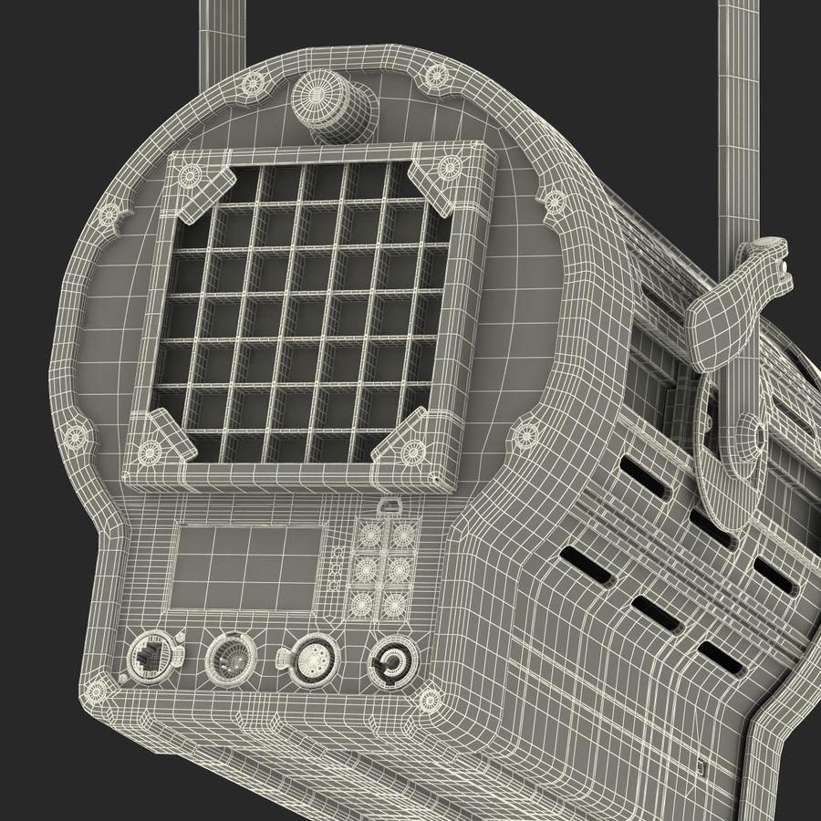 Studio Fresnel Light Generic 2 3D Model royalty-free 3d model - Preview no. 47