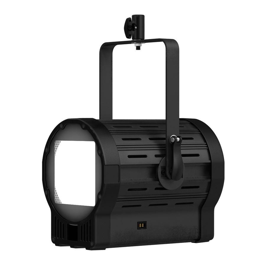 Studio Fresnel Light Generic 2 3D Model royalty-free 3d model - Preview no. 5