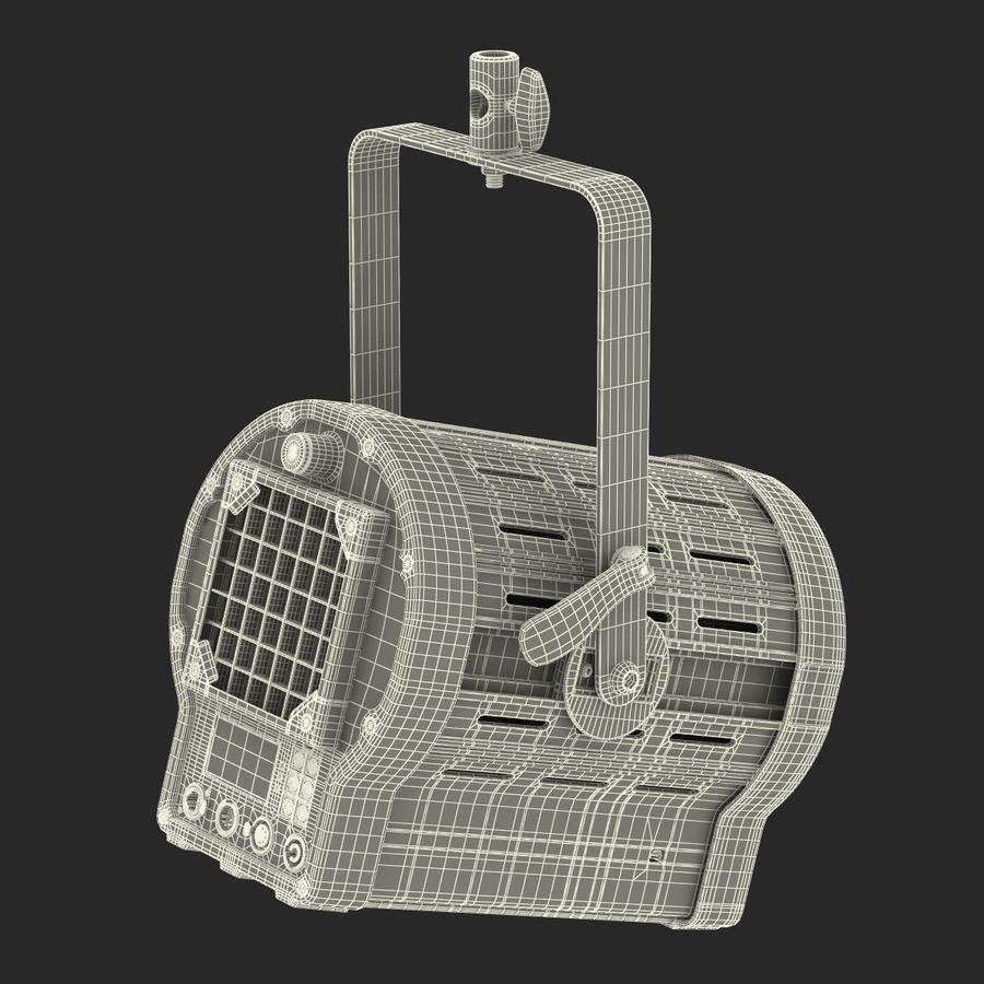 Studio Fresnel Light Generic 2 3D Model royalty-free 3d model - Preview no. 40