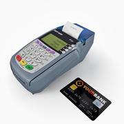 카드 터미널 3d model