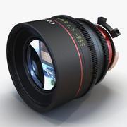 Canon Lens 3D Model 3d model