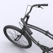 Британский военный велосипед Второй мировой войны 3d model
