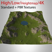 Mountain Landscape 3d model