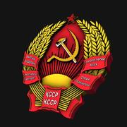 Emblemas de las repúblicas de la Unión Soviética modelo 3d