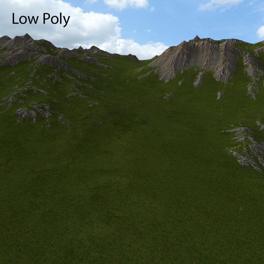 Mountain Landscape royalty-free 3d model - Preview no. 33