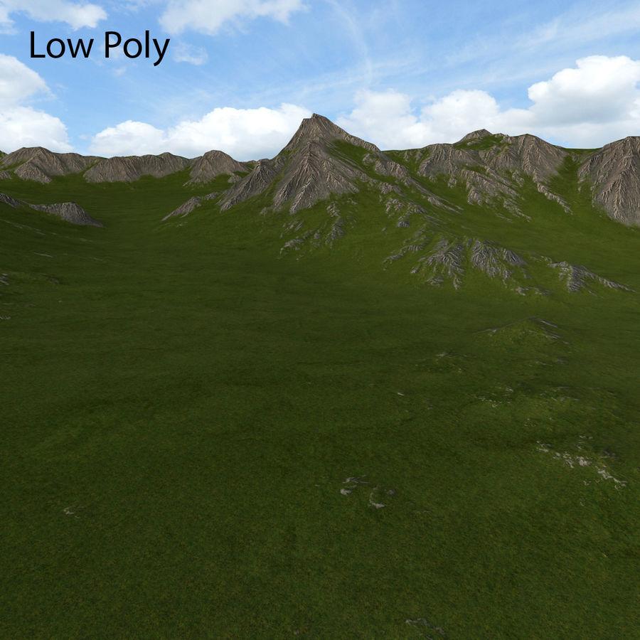 Mountain Landscape royalty-free 3d model - Preview no. 36