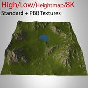 Berglandskap 3d model
