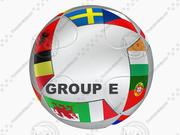 EURO 2016-2020 TEAMS EN GROEPENBAL 3d model