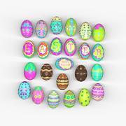 Huevos de Pascua modelo 3d