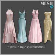 礼服套件 3d model