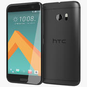HTC 10カーボングレー 3d model