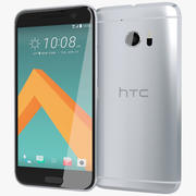HTC 10 Glacial Silver 3d model