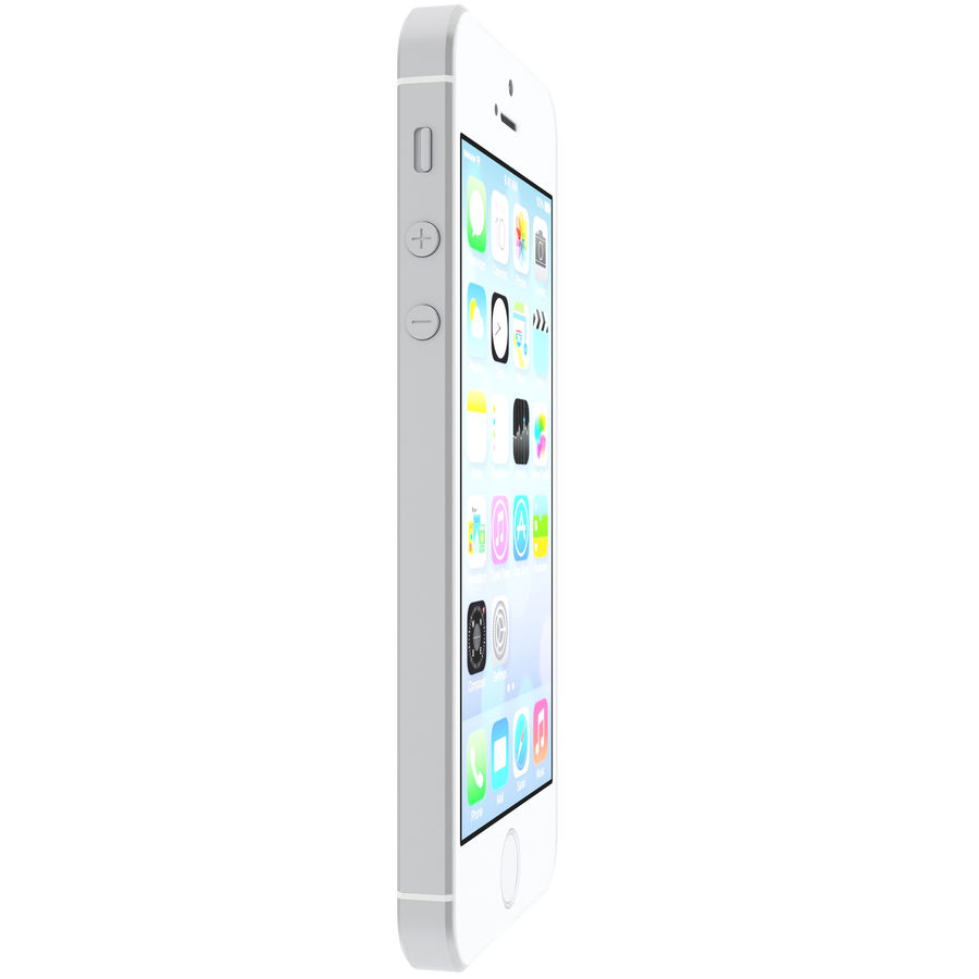 iPhone SE royalty-free 3d model - Preview no. 6