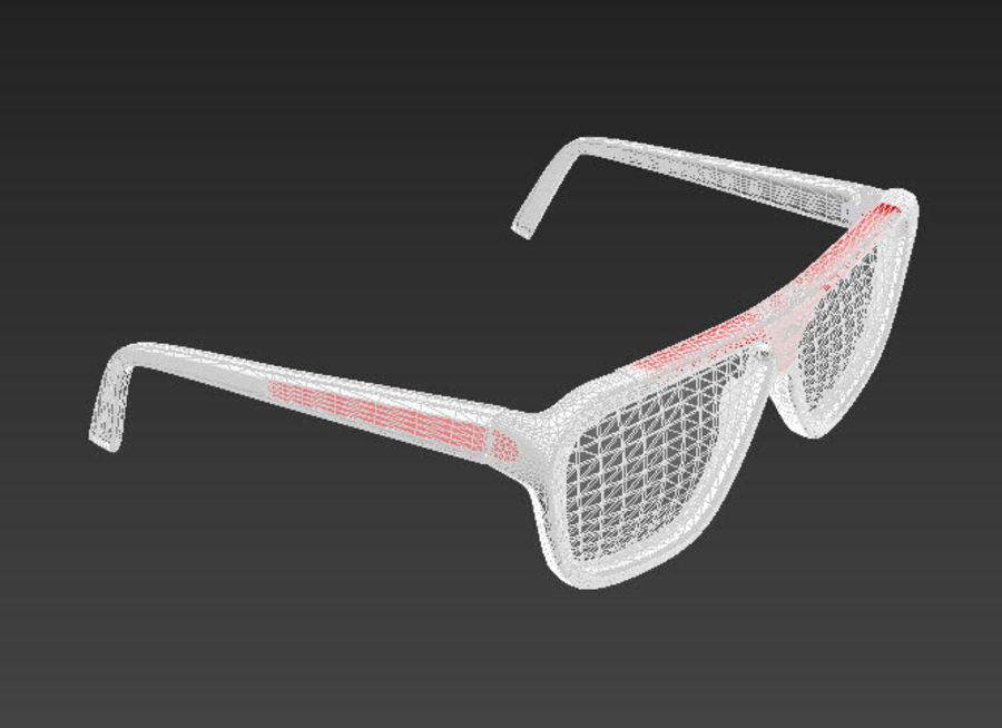 Bicchieri royalty-free 3d model - Preview no. 6