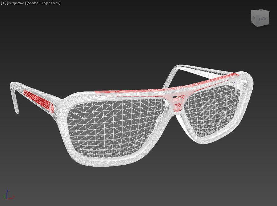 Bicchieri royalty-free 3d model - Preview no. 7
