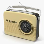 レトロなラジオ3Dモデル 3d model