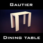 Mesa Extensível para Coquetéis Gautier 3d model