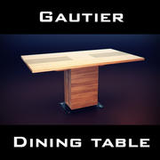 Gautier Neos Table 3d model