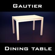 Gautier Urban Table 3d model