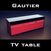 Gautier Extreme Low TV Unit 3d model