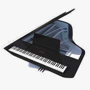 Grand Piano Pleyel Peugeot Desing Lab 3d model