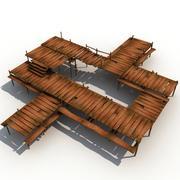 木墩 3d model