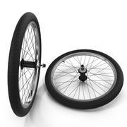 BMX Wheels 3d model