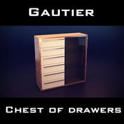Gautier Neos Storage Unit 3d model
