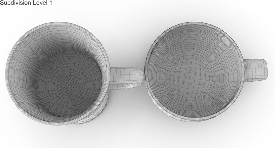 Glass Hot Drink Punch royalty-free 3d model - Preview no. 45