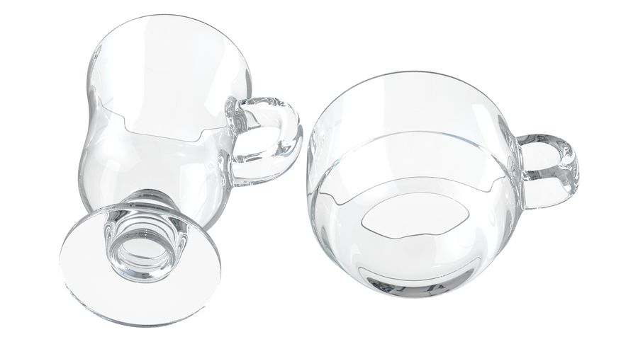 Glass Hot Drink Punch royalty-free 3d model - Preview no. 13